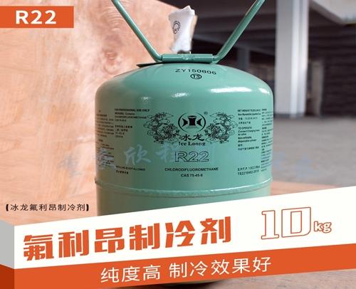 冰龙氟利昂原装R22 净重10KG