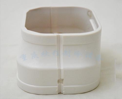 """管槽""""盖管与连接件"""" BJ100-80 变径连接 73mm109mm62mm"""
