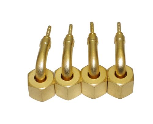 弯头 机组配件接头 高低压软管连接弯头