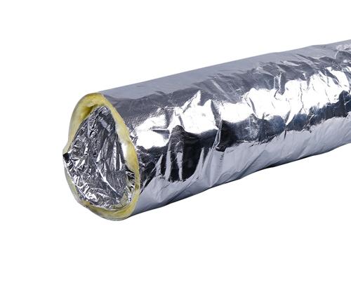 """保温软管φ150(cm直径)""""外表是玻纤铝箔布"""""""
