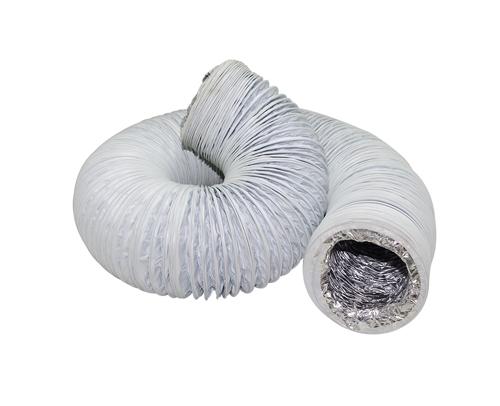 """钢丝软管φ150(cm直径)""""外表是玻纤铝箔布"""""""