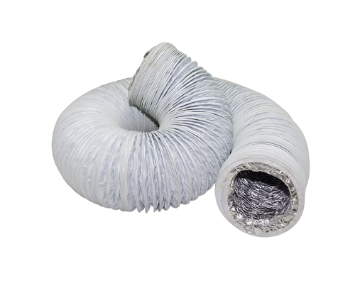 """钢丝软管φ250(cm直径)""""外表是玻纤铝箔布"""""""