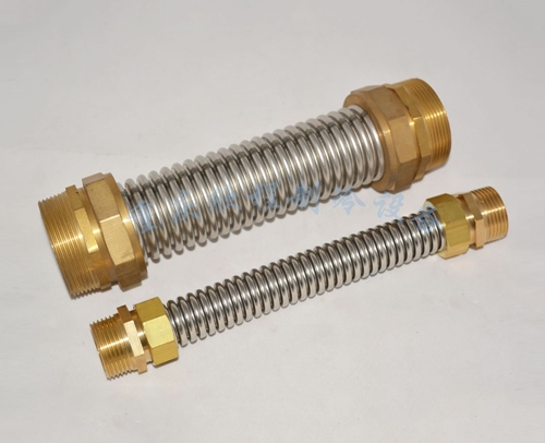 水波纹管DN50X25外丝直径58.水管2寸长25厘米( 普通软接)