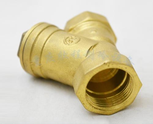 中央空调水系统DN32Y型过滤器 (内丝39) 有现货